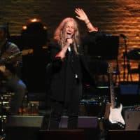 Patti Smith performs at The Apollo Theater on April 4, 2019, in New York. (Brad Barket/Invision/AP)