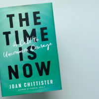 """The Time Is Now: A Call to Uncommon Courage,"" by Sister Joan Chittister. (Jack Mitchell/Here & Now)"
