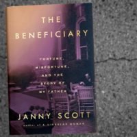 """The Beneficiary,"" by Janny Scott. (Robin Lubbock/WBUR)"