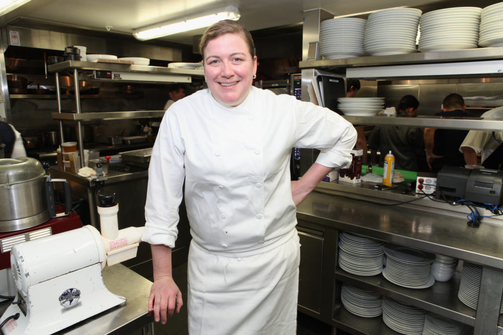 Chef and restaurateur Ashley Christensen is a semifinalist for the James Beard Award of Outstanding Chef. (Nicolas Stipcianos/Getty Images For SOBEWFF)