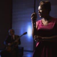 Patrice Williamson performing. (Courtesy)