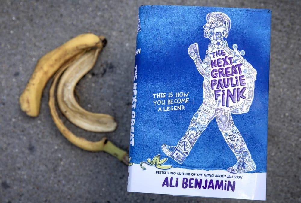 """The Next Great Paulie Fink,"" by Ali Benjamin. (Robin Lubbock/WBUR)"