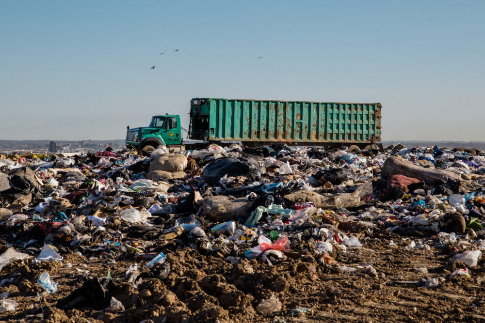 Baltimore's Quarantine Road Landfill is already at 90% capacity and would fill up completely by 2024 without incineration, according to the city's chief of disposal services. (Rosem Morton for Here & Now)