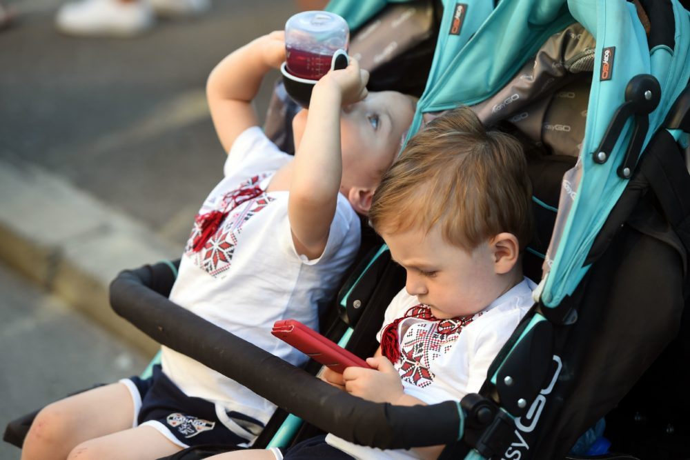 There has been rapid change in recent years when it comes to how children interact with screens. (Sergei Supinsky/AFP/Getty Images)