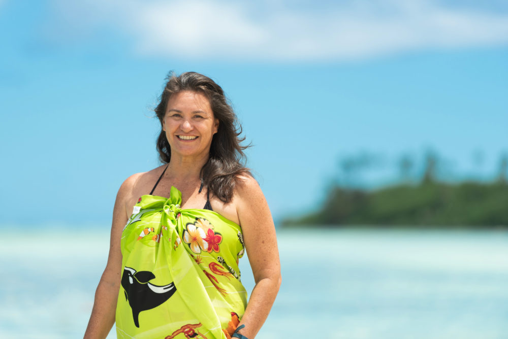 Jaqueline Evans is a winner of a 2019 Goldman Environmental Prize for her work advocating for the protection of 763,000 square miles of ocean around the Cook Islands in the South Pacific. (Courtesy of the Goldman Environmental Prize)