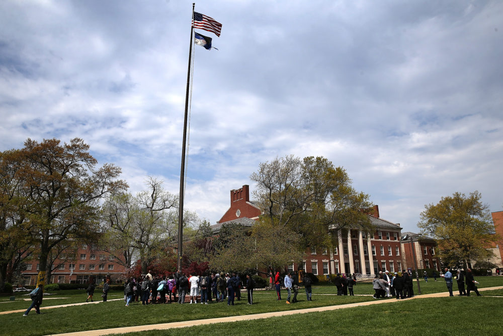 Howard University is at the center of a debate over gentrification that has resonated with people far beyond its campus in Washington, D.C. (Win McNamee/Getty Images)