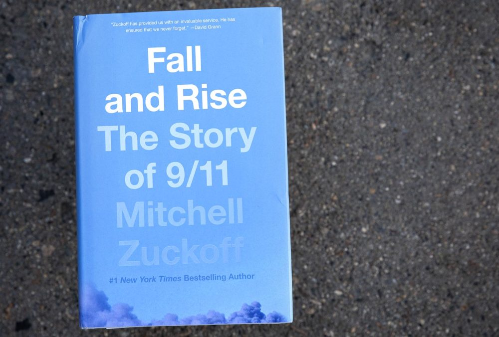 """Fall and Rise: The Story of 9/11,"" by Mitchell Zuckoff. (Robin Lubbock/WBUR)"