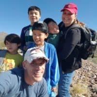 Matt and Kristi Smith with their four kids -- Ben, Caleb, Luke and Andrew (Courtesy of Kristi Smith)
