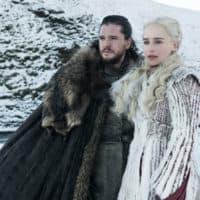 "Kit Harington and Emilia Clarke in ""Game of Thrones."" (Helen Sloane/HBO)"