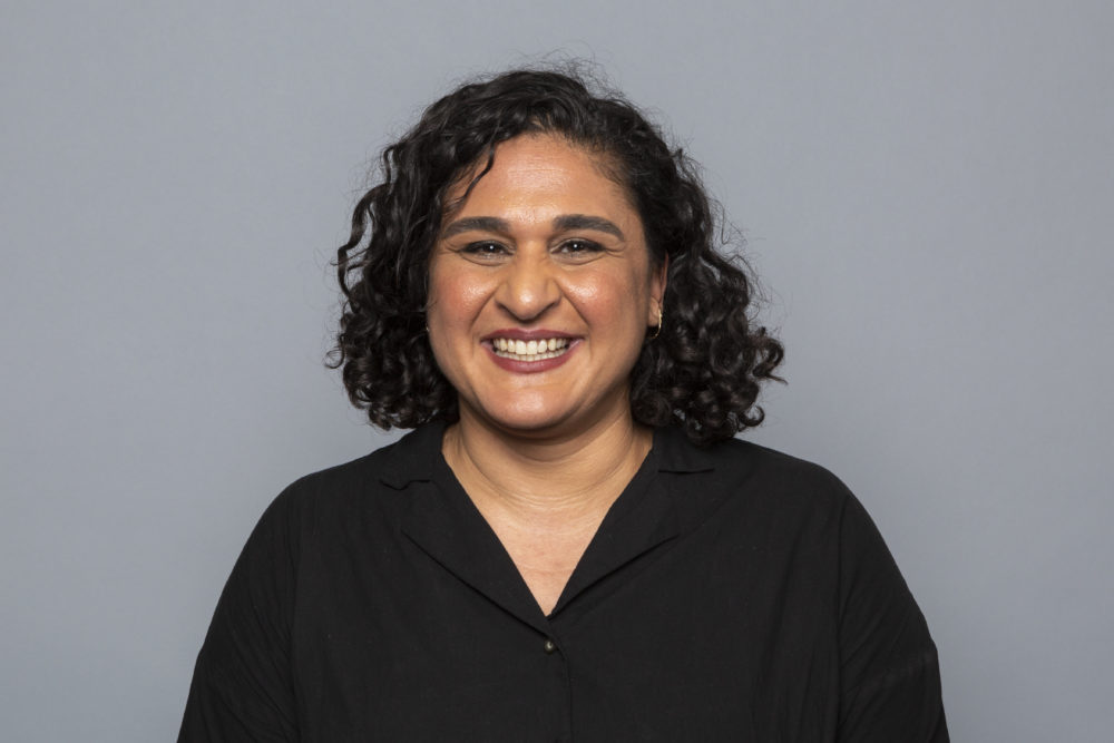 "Chef and writer of the Netflix series ""Salt, Fat, Acid, Heat"" Samin Nosrat poses for a photo during the Netflix portrait session at the Television Critics Association Summer Press Tour at The Beverly Hilton hotel on Sunday, July 29, 2018, in Beverly Hills, Calif. (Willy Sanjuan/Invision/AP)"