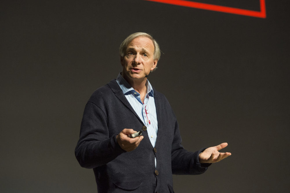 Ray Dalio seen on day three of Summit LA18 in Downtown Los Angeles on Sunday, Nov. 4, 2018, in Los Angeles. (Amy Harris/Invision/AP)