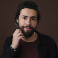 "Ramy Youssef, star of the upcoming Hulu series ""Ramy,"" poses for a portrait during the 2019 Winter Television Critics Association Press Tour, Monday, Feb. 11, 2019, in Pasadena, Calif. (Chris Pizzello/Invision/AP)"