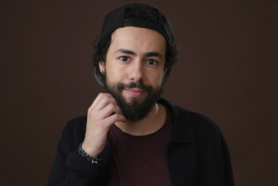 """Ramy Youssef, star of the upcoming Hulu series """"Ramy,"""" poses for a portrait during the 2019 Winter Television Critics Association Press Tour, Monday, Feb. 11, 2019, in Pasadena, Calif. (Chris Pizzello/Invision/AP)"""