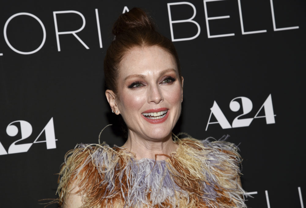 "Actress Julianne Moore attends a special screening of ""Gloria Bell"" at the Museum of Modern Art on Monday, March 4, 2019, in New York. (Photo by Evan Agostini/Invision/AP)"
