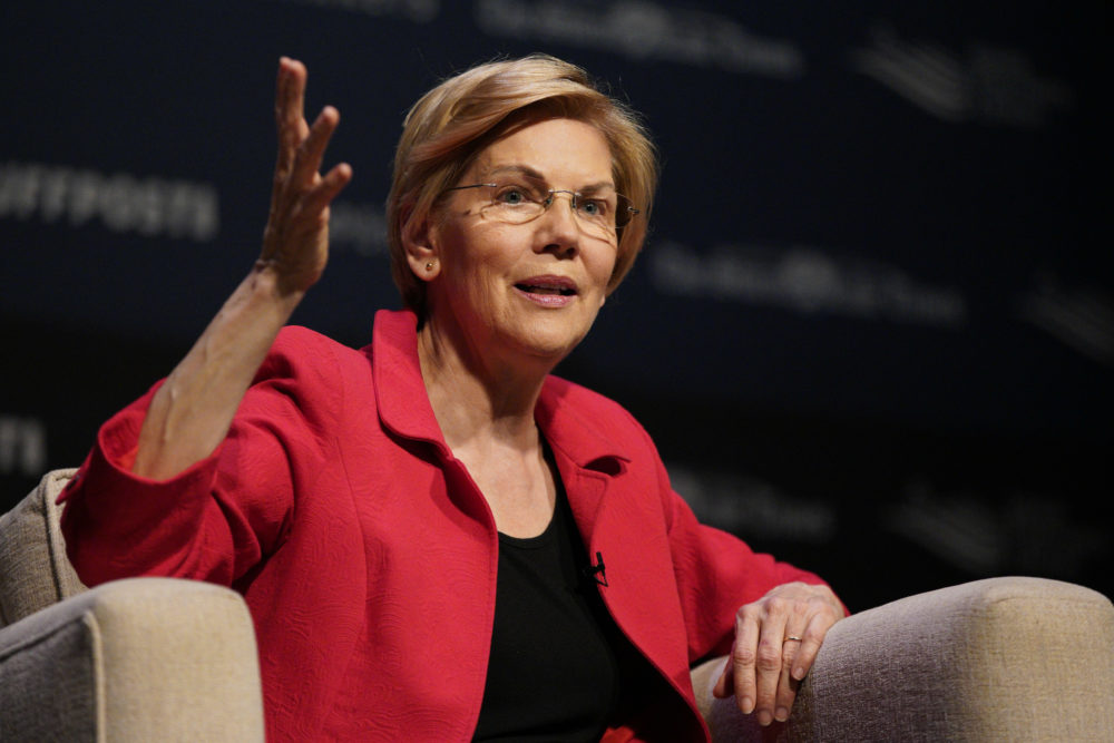Democratic presidential candidate Sen. Elizabeth Warren, D-Mass. (Nati Harnik/AP)