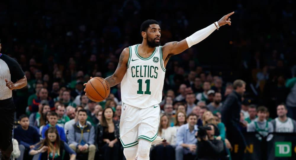 Boston Celtics point guard Kyrie Irving (Winslow Townson/AP)