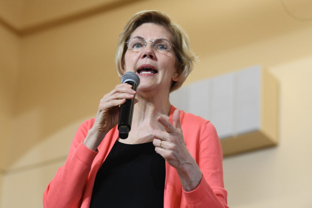 Among Democratic presidential candidates, U.S. Sen. Elizabeth Warren set the bar with the most ambitious plan so far on how to make college more affordable. (Meg Kinnard/AP)