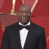 John Singleton at the Oscars in Los Angeles in 2018. (Richard Shotwell/Invision/AP)