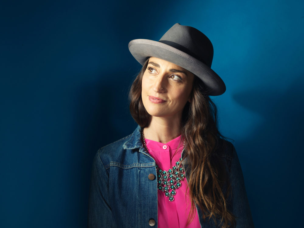 """Sara Bareilles' new album is called """"Amidst the Chaos."""" (Photo by Victoria Will/Invision/AP)"""