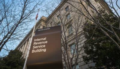 This April 13, 2014, file photo shows the Internal Revenue Service (IRS) headquarters building in Washington (J. David Ake/AP)