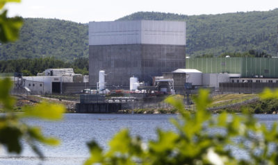 The Vermont Yankee Nuclear Power Station, in the town of Vernon, is seen in a 2013 file photo. (Toby Talbot/AP)