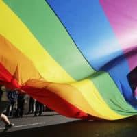 Rainbow flag (AP)