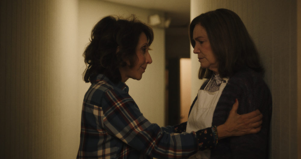 "Mary Kay Place as Diane and Andrea Martin as Bobbie in Kent Jones' ""Diane."" (Courtesy IFC Films)"
