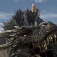 "Emilia Clarke as Daenerys Targaryen (and friend) in ""Game of Thrones."" (Courtesy HBO)"