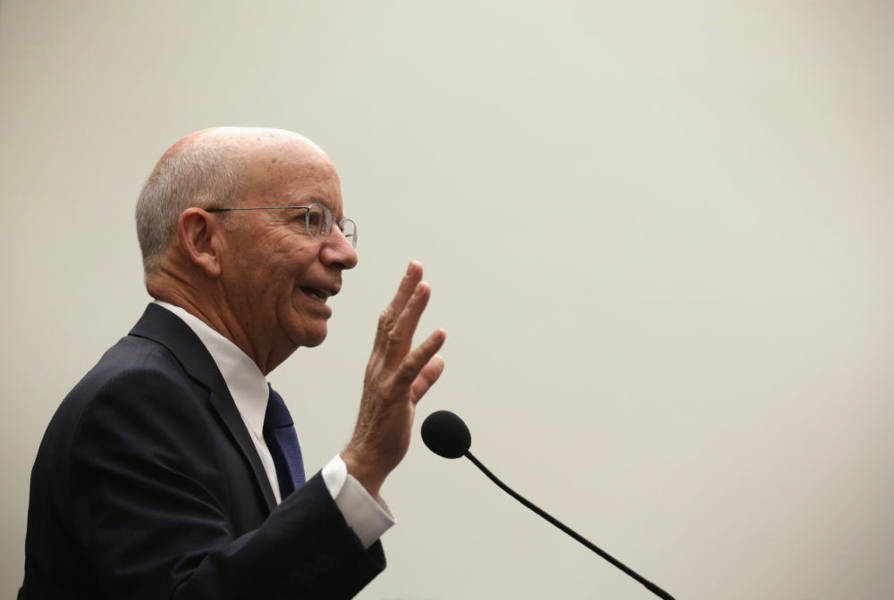 U.S. Rep. Peter DeFazio (D-OR) at the Rayburn House Office Building on Capitol Hill in Washington, D.C. (Alex Wong/Getty Images)