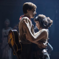 Reeve Carney and Eva Noblezada. (Matthew Murphy/Courtesy of the production)