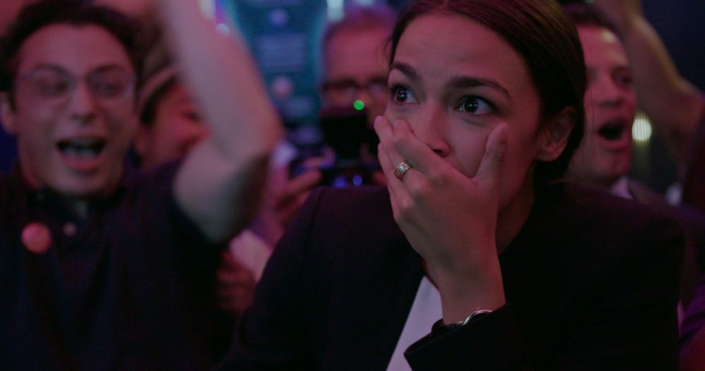 "Alexandria Ocasio-Cortez in ""Knock Down The House"" (Courtesy Netflix)"