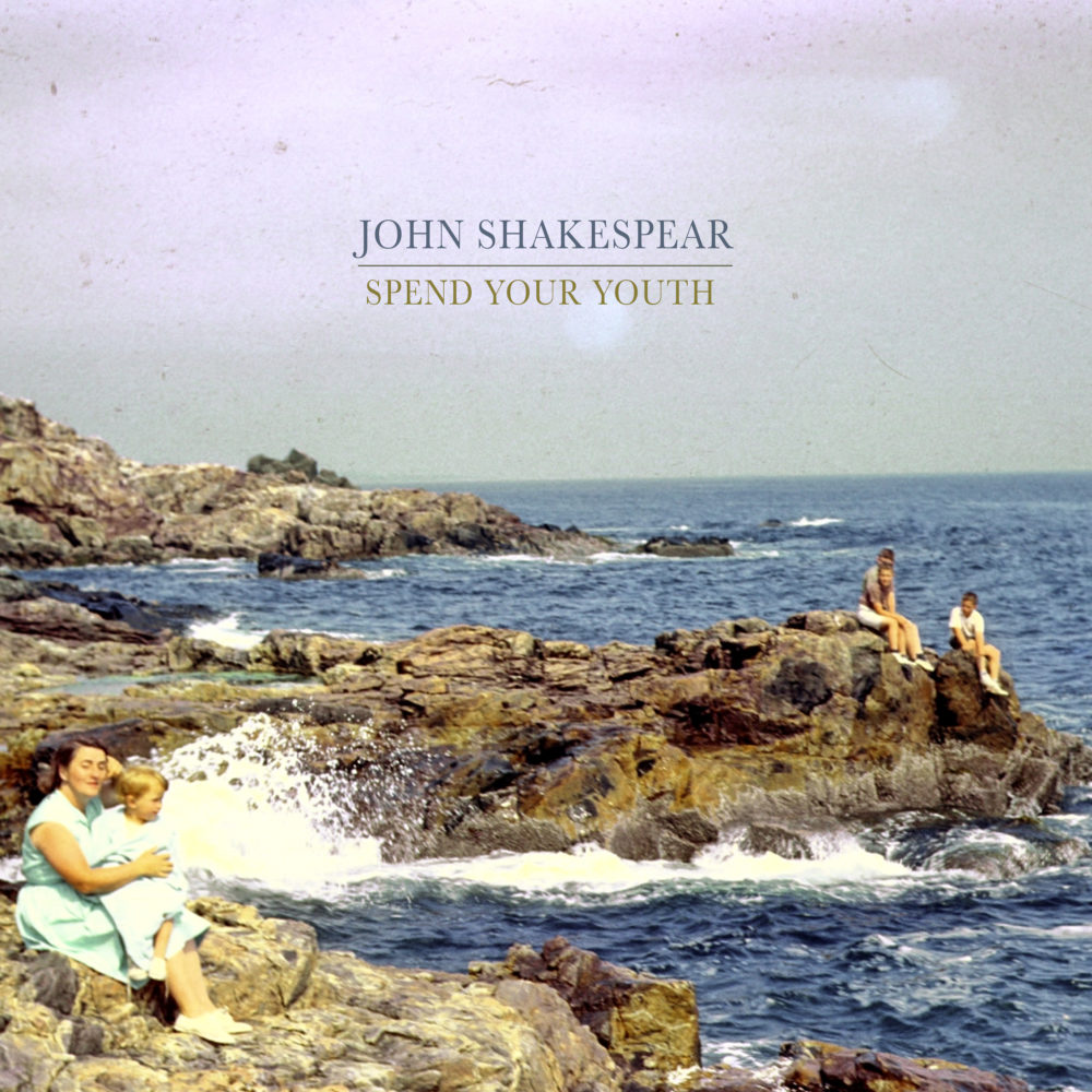 "John Shakespear's ""Spend Your Youth"" album art. (Courtesy)"