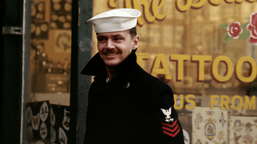 """Jack Nicholson in """"The Last Detail."""" (Courtesy)"""