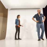 "Philana Mia and Nael Nacer in Israeli Stage's ""The Return."" (Courtesy Anna Olivella/Israeli Stage)"