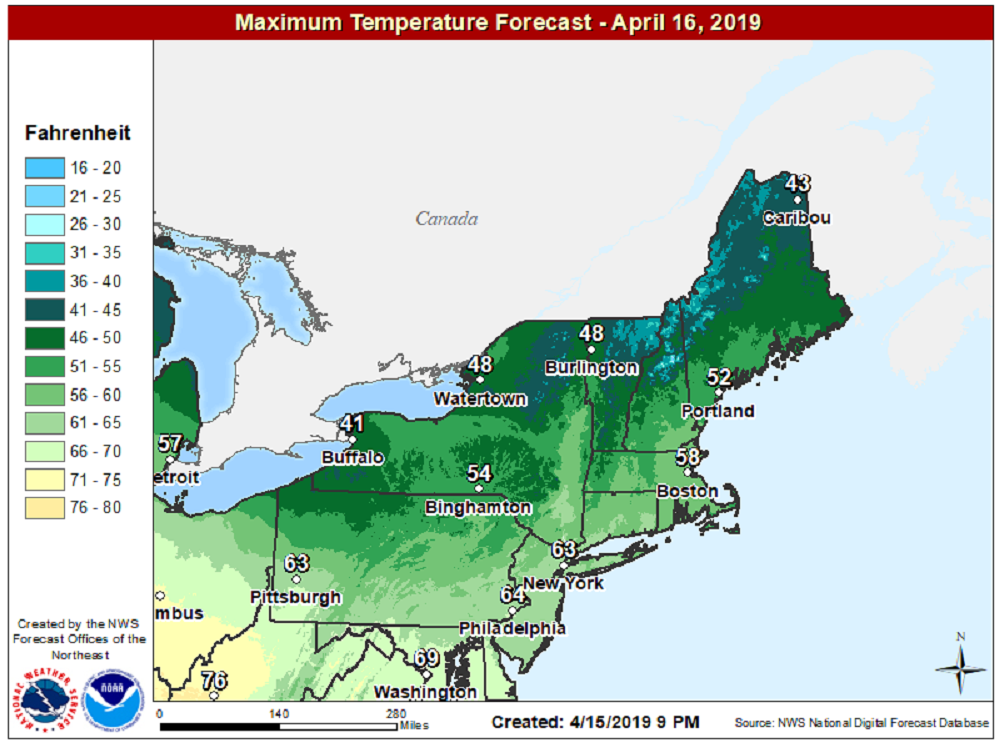 Weather: Easter and Passover weekend forecast looking stormy. Here's what to expect