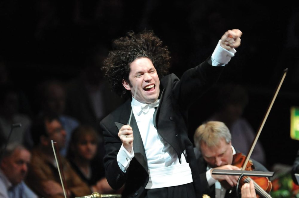Gustavo Dudamel conducts the Los Angeles Philharmonic. (Courtesy)