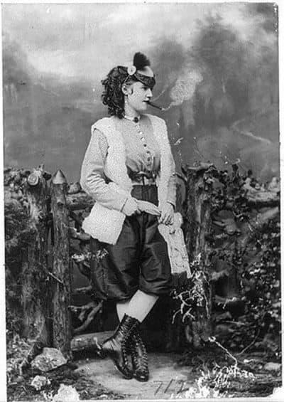 Lotta Crabtree. (Courtesy Library of Congress)