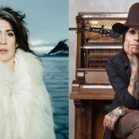 Imogen Heap and Linda Perry. (Courtesy Jeremy Cowarts and Rebecca Cabage)