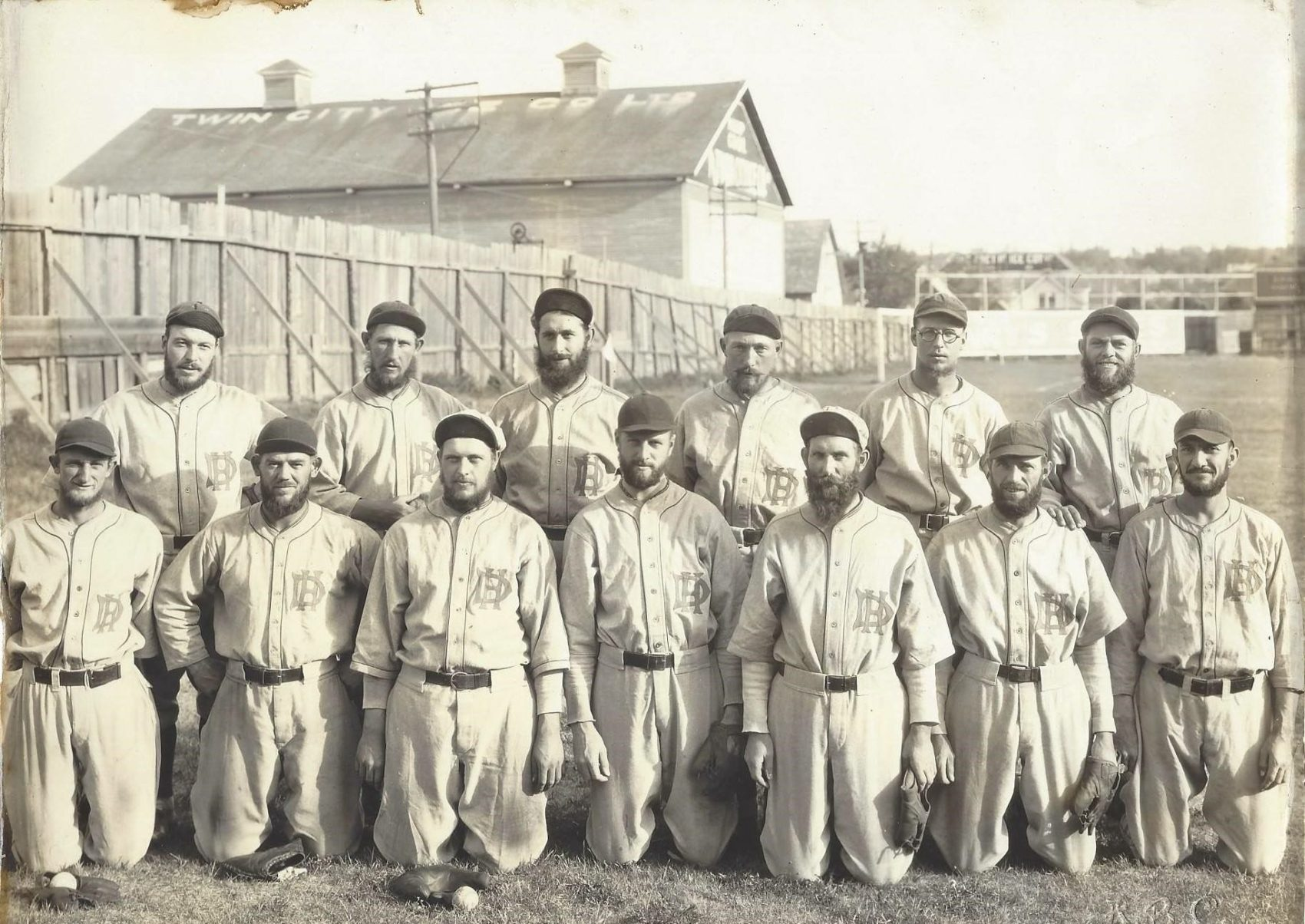 (Gracieuseté de la Maison de David Baseball Museum)