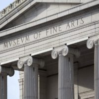 Museum of Fine Arts Boston. (Jesse Costa./WBUR)