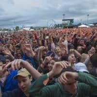 The crowd at Boston Calling in 2017. (Jesse Costa/WBUR)