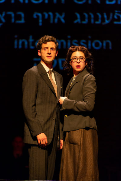 """Joby Earle and Adina Verson in """"Indecent."""" (Courtesy T. Charles Erickson)"""