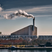 The Amager Resource Center turns garbage into heat. There's also a ski slope on top. (Courtesy of the Amager Resource Center)