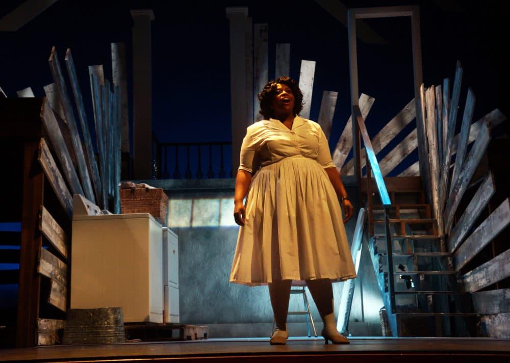 Yewande Odetoyinbo as Caroline. (Courtesy Sharman Altshuler)