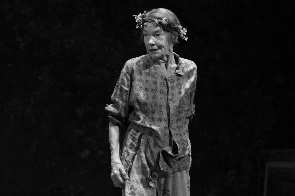 Glenda Jackson stars as King Lear in a new Broadway production of the William Shakespeare tragedy. (Brigitte Lacombe/Courtesy of the production)