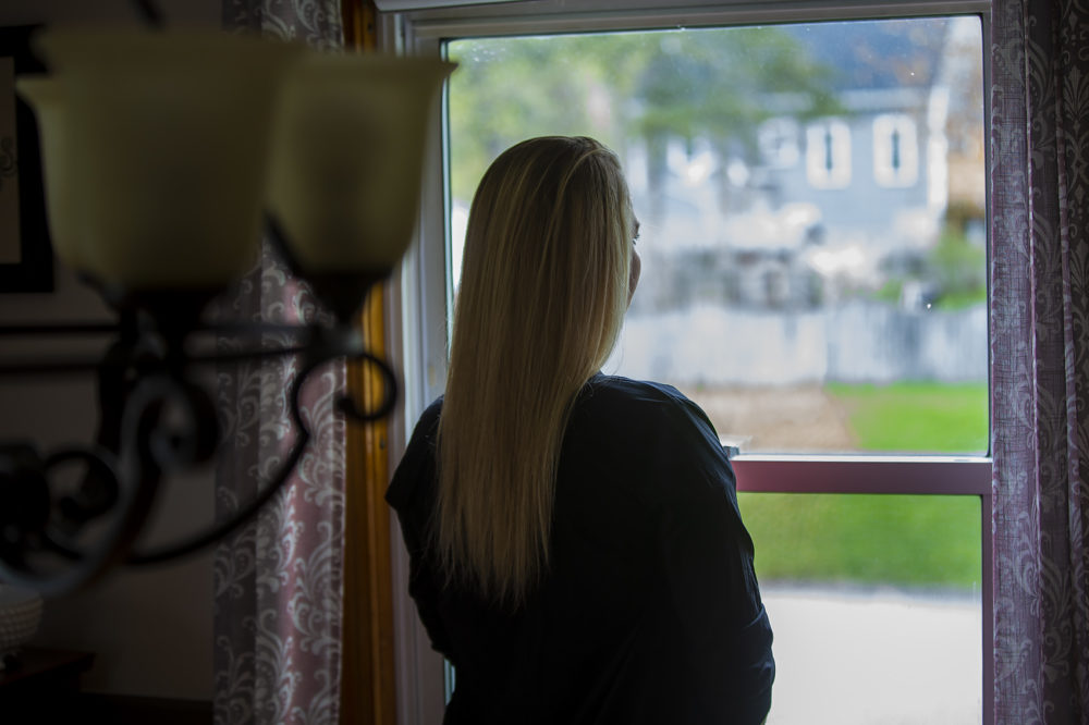 Smith at her Massachusetts home (Jesse Costa/WBUR)