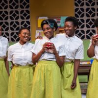 """The cast of """"School Girls; or, the African Mean Girls Play."""" (Courtesy Maggie Hall Photography)"""