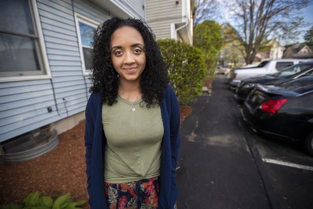 Newbury alumna Desiree Rivera Deco. (Jesse Costa/WBUR)