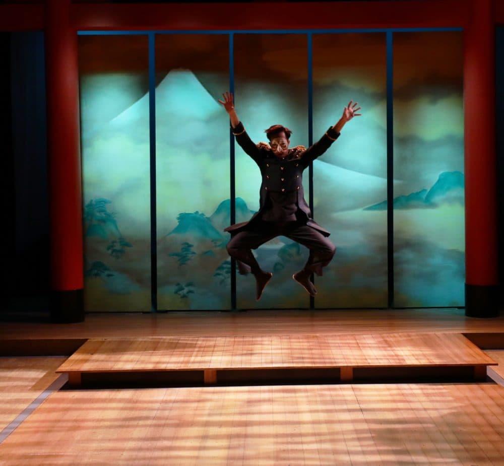 Kai Chao as Commodore Matthew Perry. (Courtesy Mark S. Howard)