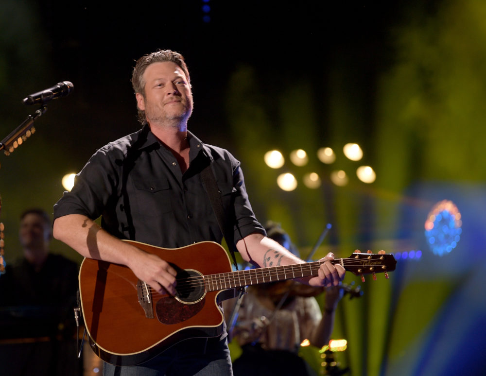 Blake Shelton performs onstage in Nashville. (Jason Kempin/Getty Images)
